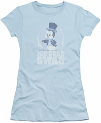 Chilly Willy juniors t-shirt Ice Cold light blue