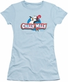 Chilly Willy juniors t-shirt Logo light blue