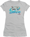 Chilly Willy juniors t-shirt Slap Shot silver