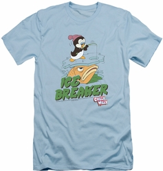 Chilly Willy slim-fit t-shirt Ice Breaker mens light blue