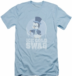 Chilly Willy slim-fit t-shirt Ice Cold mens light blue