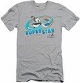 Chilly Willy slim-fit t-shirt Slap Shot mens silver