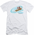 Chilly Willy slim-fit t-shirt Too Cool mens white
