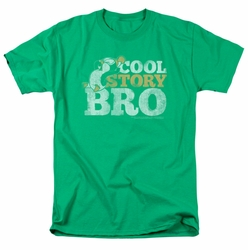 Chilly Willy t-shirt Cool Story mens kelly green