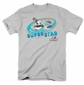 Chilly Willy t-shirt Slap Shot mens silver