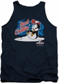 Chilly Willy tank top Just Chillin mens navy