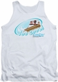 Chilly Willy tank top Too Cool mens white