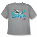 Chilly Willy youth teen t-shirt Slap Shot silver