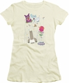Chowder juniors t-shirt Dots Collage cream