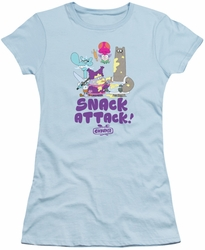 Chowder juniors t-shirt Snack Attack light blue