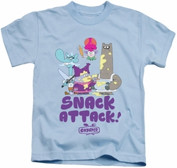 Chowder kids t-shirt Snack Attack light blue
