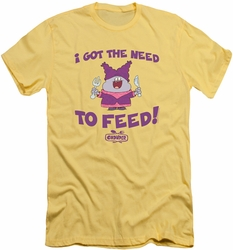 Chowder slim-fit t-shirt The Need mens banana