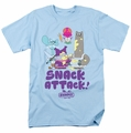 Chowder t-shirt Snack Attack mens light blue