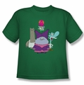 Chowder youth teen t-shirt Group kelly green
