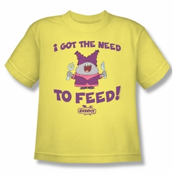 Chowder youth teen t-shirt The Need banana
