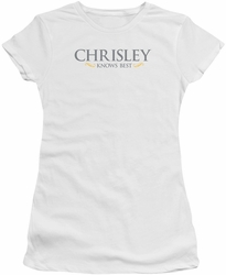 Chrisley Knows Best juniors t-shirt Logo white