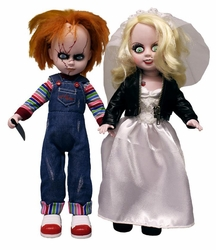 Chucky & Tiffany Living Dead Dolls set
