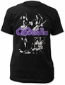 Cinderella group fitted jersey tee black t-shirt pre-order