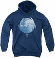 Circa Survive youth teen hoodie Storm navy