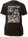 Circle Jerks fitted jersey tee bad religion mens coal pre-order