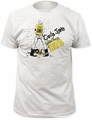 Circle Jerks fitted jersey tee golden shower mens vintage white pre-order