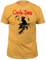 Circle Jerks skank man fitted jersey tee mens ginger pre-order