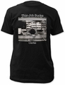 Clerks this job sucks! fitted jersey tee mens black pre-order
