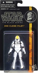 Clone Pilot #08 3/4-inch Star Wars Black Series action figure