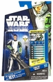 Clone Trooper Hevy CW41 Clone Wars action figure *shelf wear*