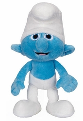 Clumsy Smurf bean bag plush Smurfs Movie
