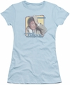 Columbo juniors t-shirt Inconspicuous light blue