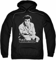 Columbo pull-over hoodie Title adult black
