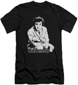 Columbo slim-fit t-shirt Title mens black