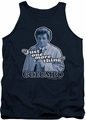 Columbo tank top Just One More Thing mens navy