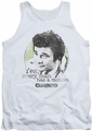 Columbo tank top Motive mens white