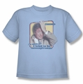 Columbo youth teen t-shirt Inconspicuous light blue