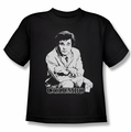 Columbo youth teen t-shirt Title black