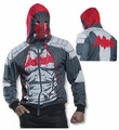 Batman Red Hood Hoodie Sweatshirt adult costume