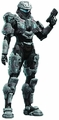 Commander Palmer action figure Halo 4 Series 3