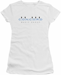 Concord juniors t-shirt Logo white