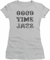 Concord Music juniors t-shirt Good Time Jazz Vintage silver