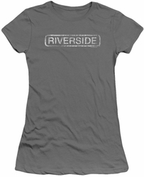 Concord Music juniors t-shirt Riverside Distressed charcoal