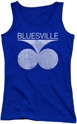 Concord Music juniors tank top Bluesville Distress royal