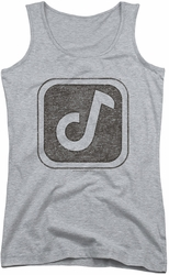 Concord Music juniors tank top Concord Symbol athletic heather