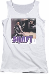 Isaac Hayes juniors tank top Shaft white