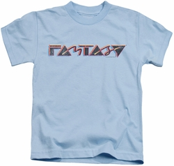 Concord Music kids t-shirt Fantasy 80's light blue