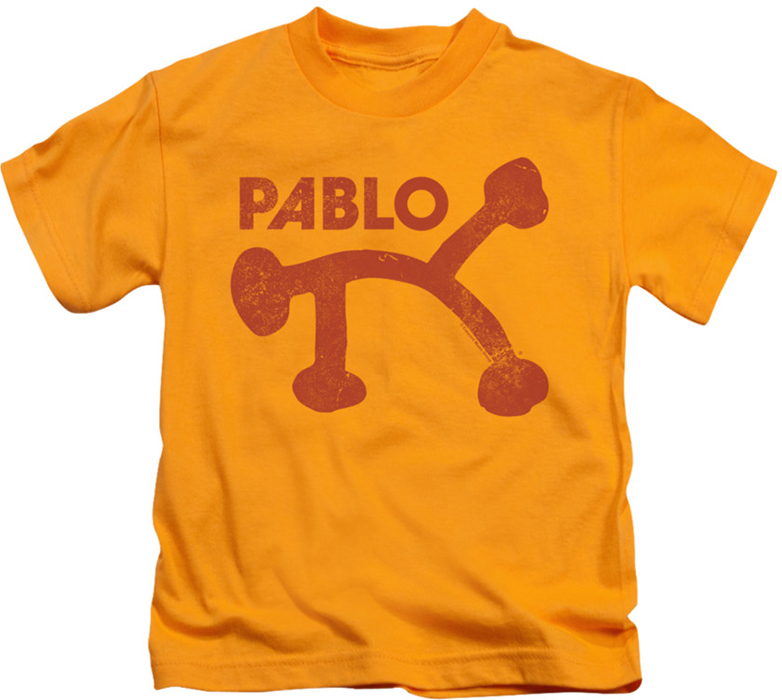 Concord Music kids t-shirt Pablo Distressed gold
