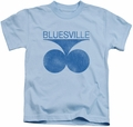 Concord Music kids t-shirt Retro Bluesville light blue