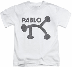 Concord Music kids t-shirt Retro Pablo white