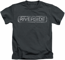 Concord Music kids t-shirt Riverside Distressed charcoal